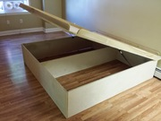 King Size Platform Bed w/Storage