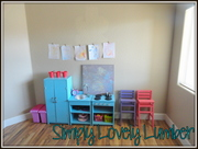 Play Kitchen and Doll High Chairs