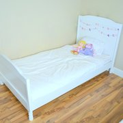 Pottery Barn Inspired Twin Bed