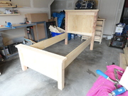 The bed almost done