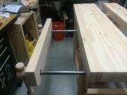 Budget-friendly Roubo-style workbench #4