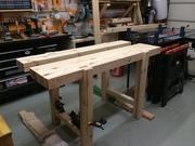 Budget-friendly Roubo-style workbench #7