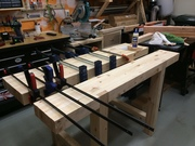 Budget-friendly Roubo-style workbench #8