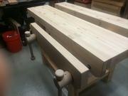 Budget-friendly Roubo-style workbench #3
