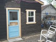 Front Door (west side) Shed/Shop