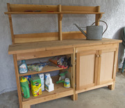 Outdoor Storage/Potting Bench