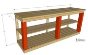 Console table-overall dimensions