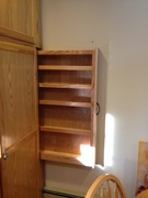 Vertical spice rack drawer