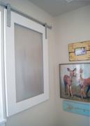 Barn Door Style window covering