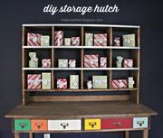 desk storage hutch
