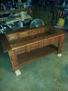 Finished table - before glass