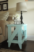 Narrow Cottage Side Table
