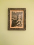 Mitered frame with laser jet photo transfer #2
