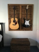 Guitar Holder - Reclaimed Wood