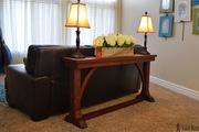 Narrow Sofa Table dimensions