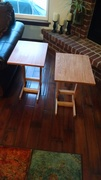 Oak couch tables