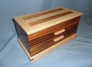 Zebrawood & Maple Box