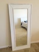 White Tall Mirror