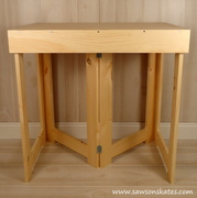 Easy to build Folding Workbench