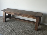 Bench with A Frame Ends