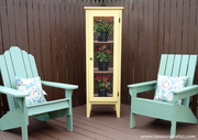 DIY Patio Garden Cabinet