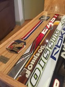 medals and sticks