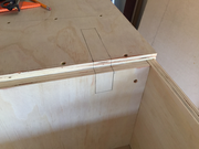 Trim for Table Saw track