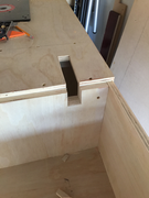 Trip for Table Saw track