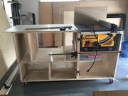 Test fit for Dewalt 745 Table Saw