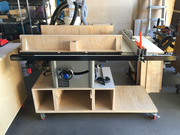 Test fit for Delta 36-725 Table Saw