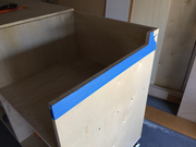 Trim for Table Saw right side