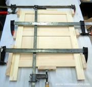 diy air conditioner dresser side assembly 1