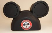 Mickey Mouse Club hat bandsaw box