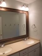 Oak Bathroom Mirror Frame
