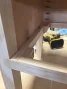 Mini lego table pocket holes