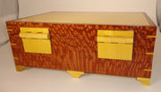 Lacewood & Yellowheart box