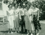 Tony and Lina Brown Family - Lucille, Luella, Dorothy