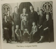 Harry and Alfa Hultgren and family