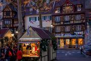 kerstmarkt in Colmar