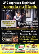 2º Congresso'''''Tocando no Manto'''pr.Rubem Marques.