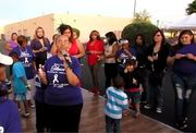Stomp The Violence Event at Agnes Center for Domestic Solutions