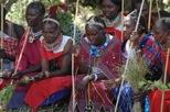 Samburu women in prayer for rains and peace
