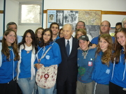 Encontro Hashomer Hatzair com Shimon Peres