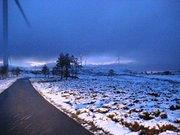 Serra com neve