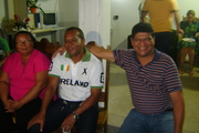 Eu com Vilma e Carlos Agusto