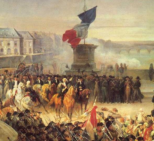el acontecimiento de la revolución