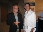Breathing & Sleep Presenter, Louis Boitano, (left) and Friend