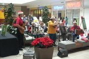 CTAA Xmas Carol performance at Lakeline Mall 12/19/09