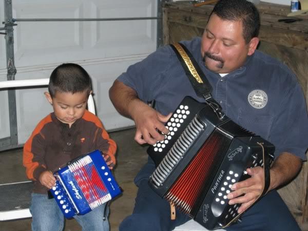 Xavier's first accordion 09