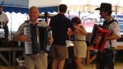 Chris Rybak playing accordion at Westfest 2012